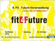 PowerPoint Template - fit4Future - Raiffeisen