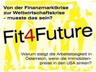 Die US-Immobilienkrise - fit4Future
