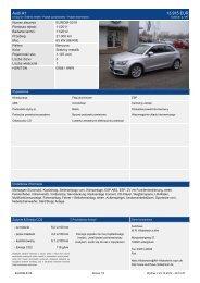 Audi A1 15.915 EUR - Autohaus Hildesheim