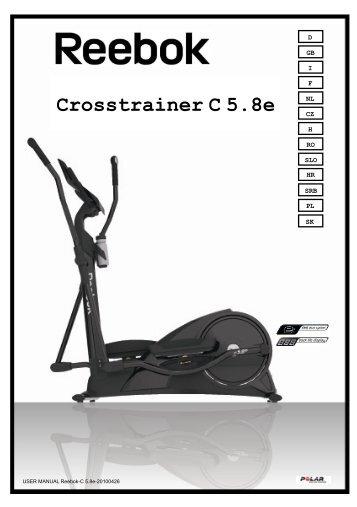 Crosstrainer C 5.8e - Reebok Fitness