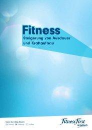 Broschüre PDF - Fitness First