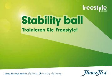 Stability ball - Fitness First