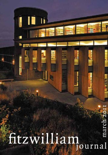 Part I - Fitzwilliam College - University of Cambridge