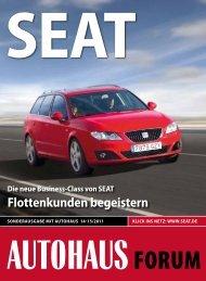 SEAT Neustart im Berliner Westen FloTTENGESchäFT - Autohaus