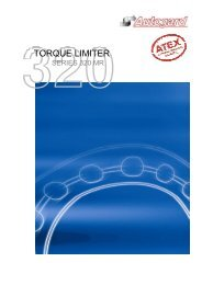 AUTOGARD SERIES 320 MR TORQUE LIMITER - Autogard ...
