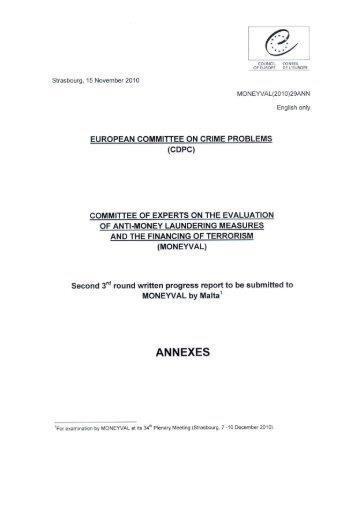 16 November 2010 - Financial Intelligence Analysis Unit