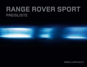 Range Rover Sport PREISE - Schwabengarage AG