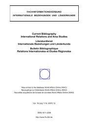 13/2007, 1-15 Juli - Fachinformationsverbund