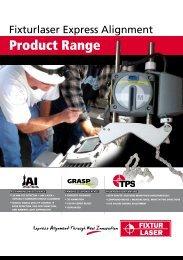 Fixturlaser Shaft Alignment Product Range Brochure