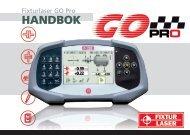 Fixturlaser GO Pro manual