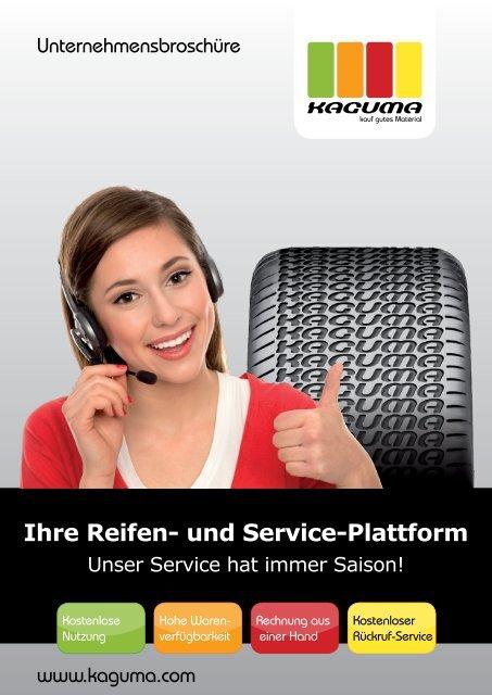 Ihre Reifen- und Service-Plattform - Kaguma