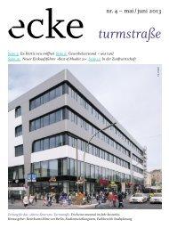 Mai/Juni 2013 - Aktives Stadtzentrum Turmstraße