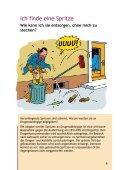 «Umsicht! Vorsicht! Dann sticht es nicht» - 2011 - Infodrog - Seite 6