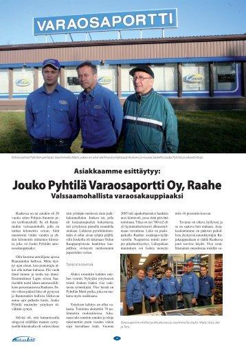 Jouko Pyhtilä Varaosaportti Oy, Raahe - Fixus