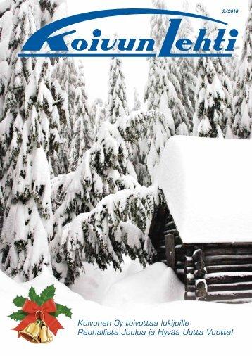 Koivunen Oy toivottaa lukijoille Rauhallista Joulua ja Hyvää ... - Fixus