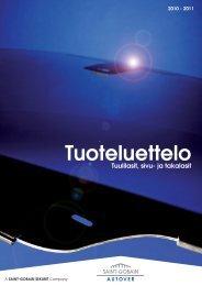 S-G Autover Tuoteluettelo 2010-2011 - Fixus