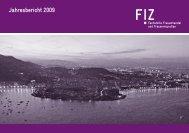 Jahresbericht 2009 - FiZ