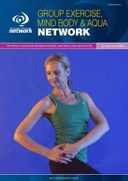 Group Exercise, Mind Body & AQuA Network - Australian Fitness ...