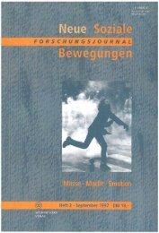 Vollversion (6.1 MB) - Forschungsjournal Soziale Bewegungen