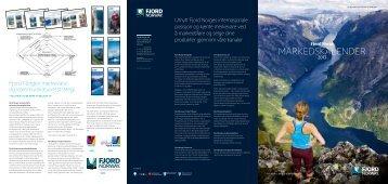 Kalender over markedsaktiviteter 2013 - Fjord Norway
