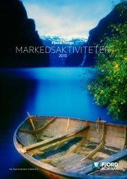 MARKEDSAKTIVITETER - Fjord Norway