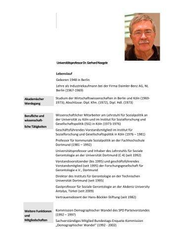 lebenslauf naegele neu deutsch 05 2012 - Lebenslauf Deutsch