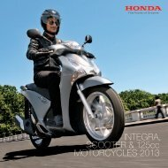 Scooter + MC125 Bikes (PDF, 16.5 MB) - Honda