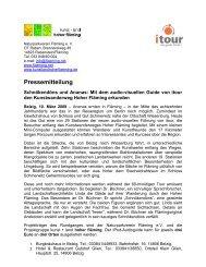 Pressemitteilung - Naturpark Hoher Fläming