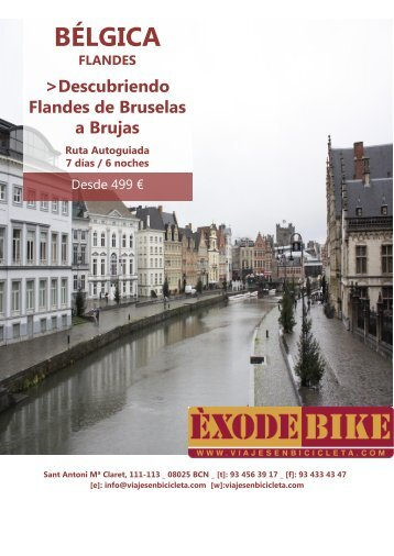 BÉLGICA - Flandes y Bruselas