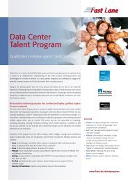 Data Center Talent Program - Fast Lane