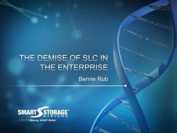 Bernie Rub - Flash Memory Summit