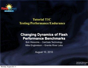 OakGate Technology/Granite River Labs - Flash Memory Summit