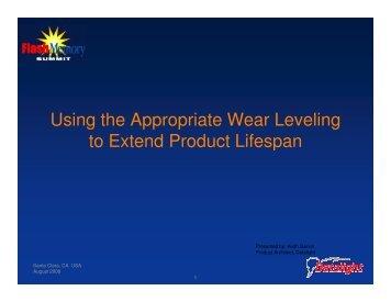Wear leveling - Flash Memory Summit