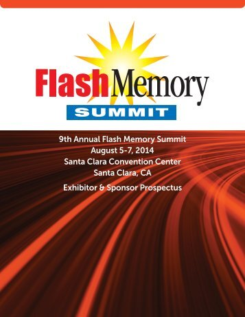 2013 Exhibitor Prospectus - Flash Memory Summit