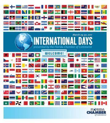 2011 International Days Program - Florida Chamber of Commerce