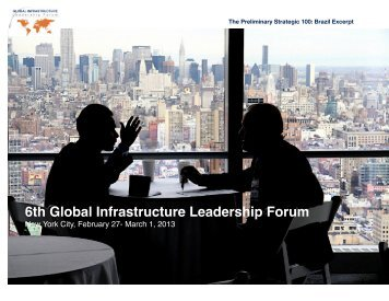 Download the 6th Global Infrastructure Leadership Forum