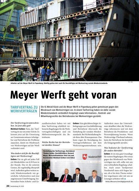 metallzeitung Kueste Nr. 10