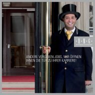 HMG Recruitingbroschüre [PDF] - Fleming's Hotels und Restaurants