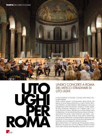 Uto Ughi per Roma - fleming press