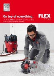 Renovation machines - FLEX