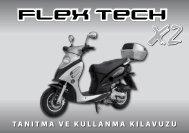 Flex Tech X2 Tanıtma ve Kullanma Kılavuzu (PDF) (848 kB)