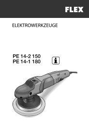 PE 14-2 150 PE 14-1 180 - FLEX