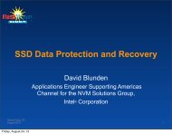 SSD Data Protection and Recovery - Flash Memory Summit