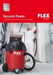 Vacuum Power. - FLEX