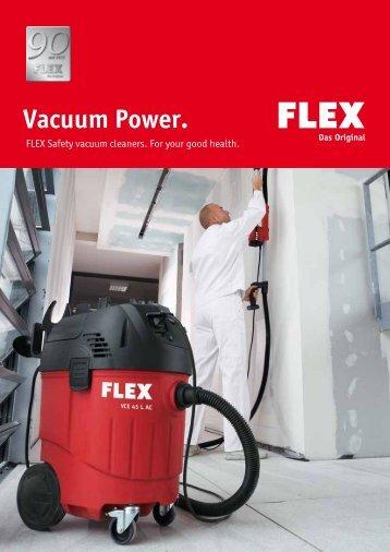 Vacuum Power. - FLEX