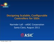 Designing Scalable, Configurable Controllers for SSDs