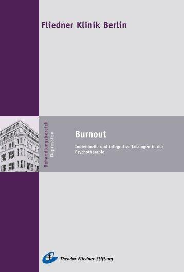 Fliedner Klinik Berlin Burnout - Theodor Fliedner Stiftung