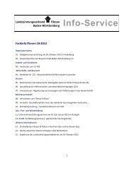 Info-Service - Landesinnungsverband Fliesen Baden-Württemberg