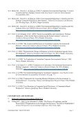 CURRICULUM VITAE I: PERSO AL DETAILS - Flinders University - Page 7