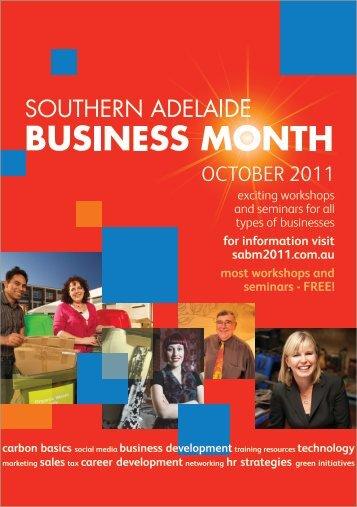 Southern Adelaide Business Month Brochure - Flinders University